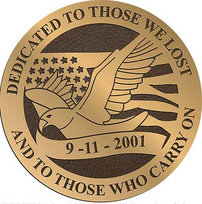 bronze military plaque, round military plaques