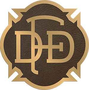 custom bronze plaques, round rope border custom plaque