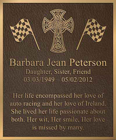 bronze memorial plaques, bronze memorial plaque