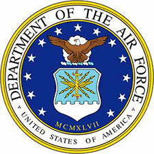 full color air force  bronze seal, color air force bronze plaques, color air force bronze emblems