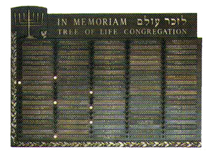 yahreit memorial plaques, yahreit tablets, yahreit wall, yahreit bronze memorial plaques